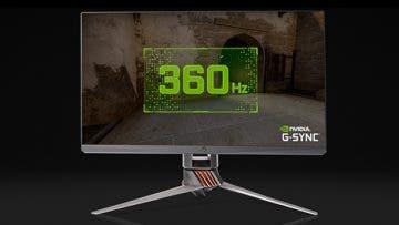 Nvidia y Asus presentan el primer monitor con panel de 360Hz, ASUS ROG Swift 360Hz 10