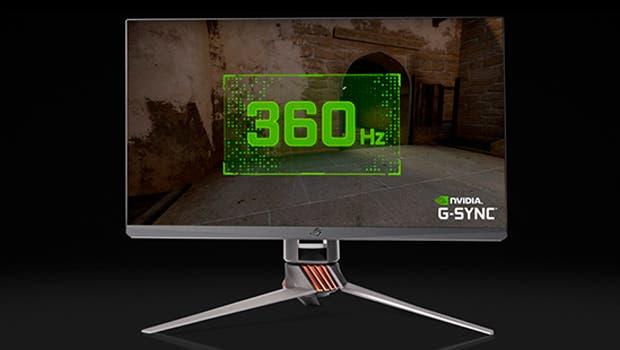 Nvidia y Asus presentan el primer monitor con panel de 360Hz, ASUS ROG Swift 360Hz 1