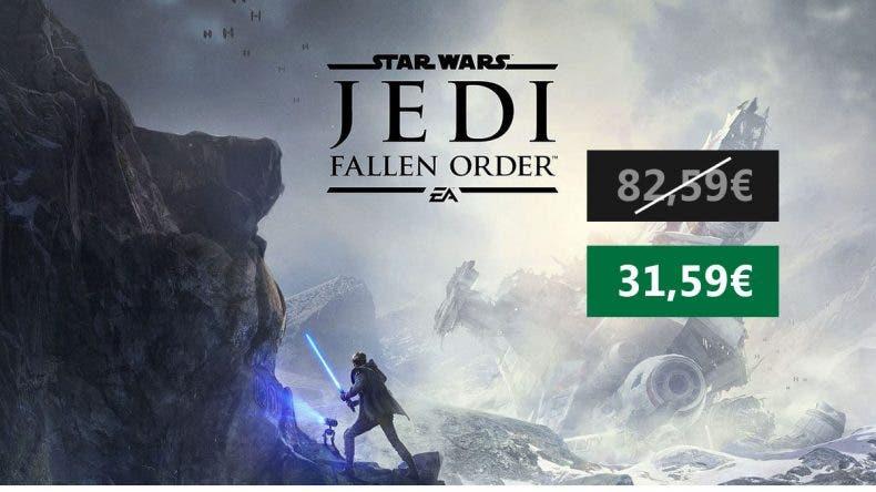 Gran oferta por Star Wars Jedi Fallen Order Xbox One 1