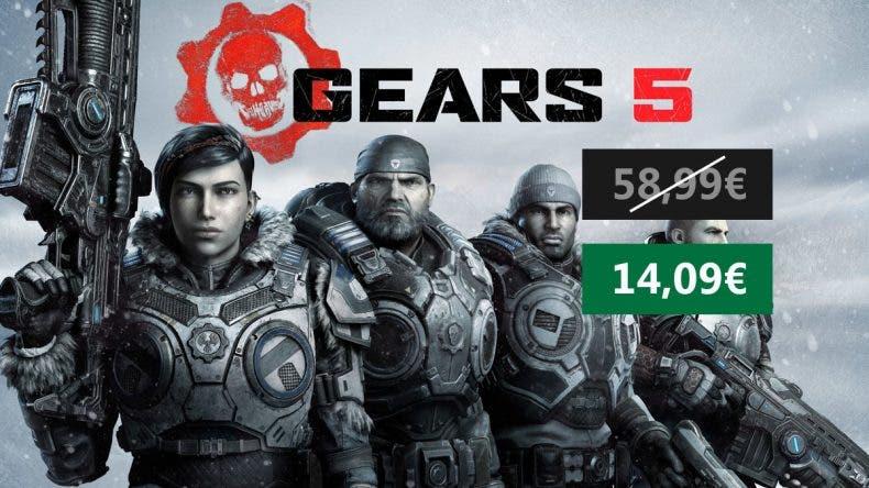 Precio mínimo histórico por Gears 5 para Xbox One y PC 1