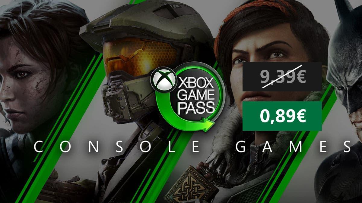 Consigue 1 mes de Xbox Game Pass a un precio increíble 8