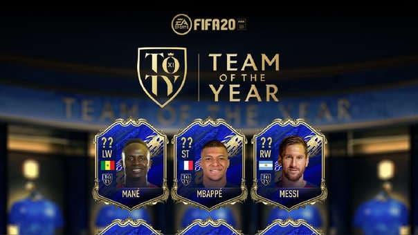 Estadísticas y precios de Messi, Mbappé y Mané, los únicos jugadores TOTY de FIFA 20 disponibles 1