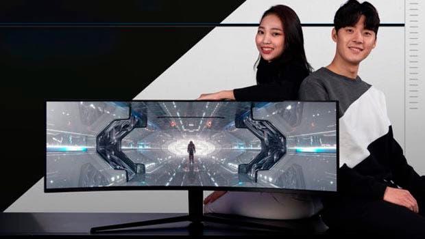 Samsung introduce los monitores curvos The Odyssey, que se presentarán en el CES 2020 1