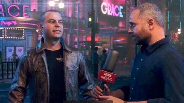 La BBC envía un reportero a Watch Dogs: Legion para hacer una entrevista a su Director Creativo 1