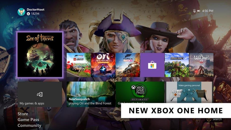 Estas son las nuevas características de la actualización de febrero de Xbox One 2