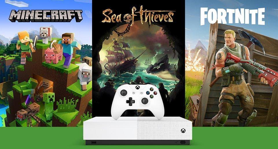 Xbox One S All-Digital Edition recibe una gran oferta en El Corte Inglés de cara a los Reyes Magos 2