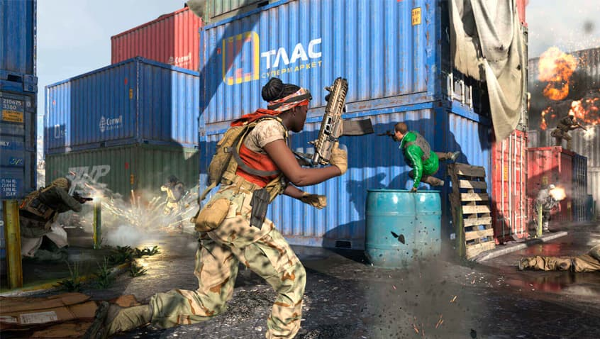 Mapa Shipment de Call of Duty: Modern Warfare