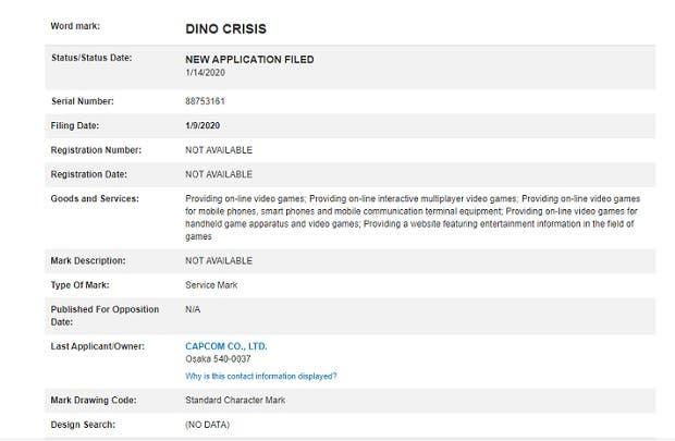 Capcom registra un Dino Crisis multijugador hace apenas unos días 1