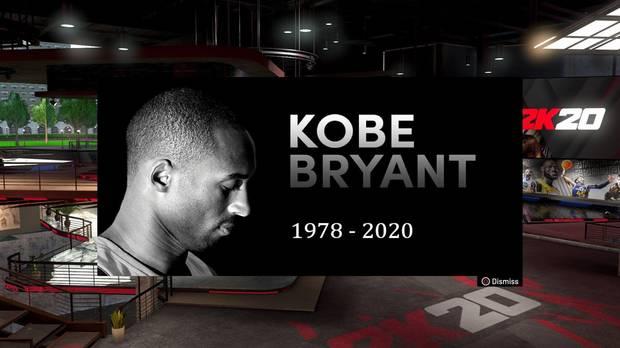 NBA 2K20 rinde tributo a Kobe Bryant 1