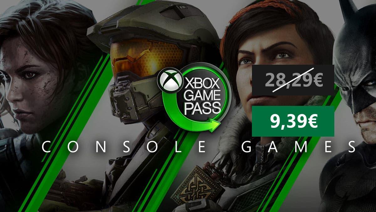 Consigue 3 meses de Xbox Game Pass a un precio increíble 2