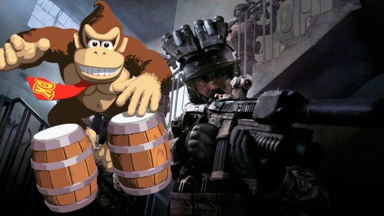 Un youtuber juega a Call of Duty: Modern Warfare con los bongos de Donkey Kong 1