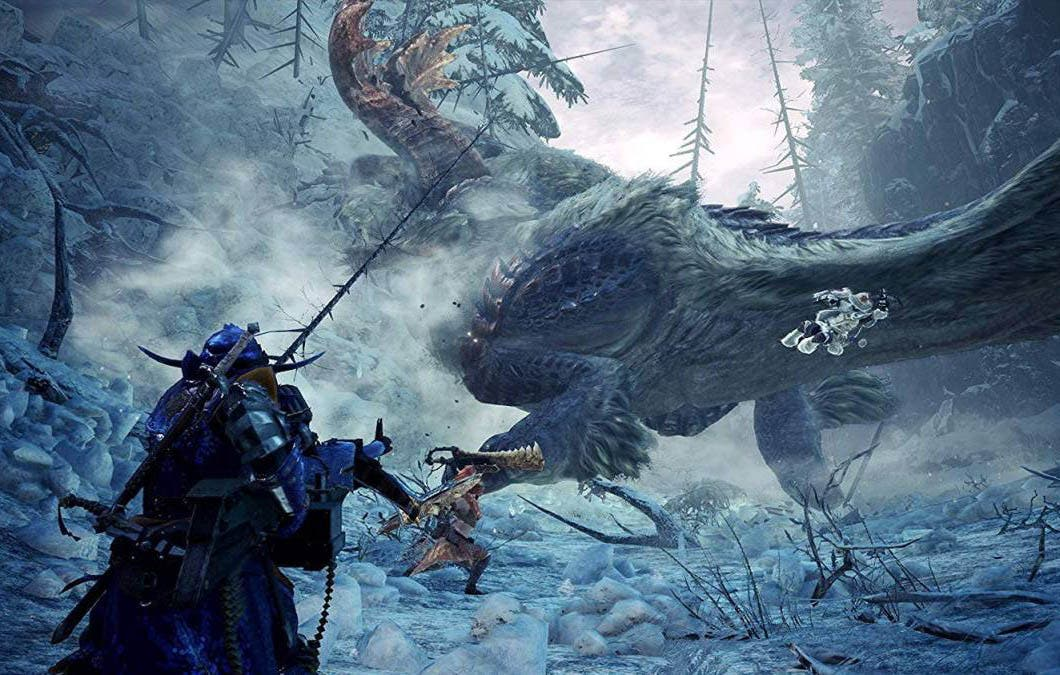 Monster Hunter World: Iceborne soluciona el bug que podía romper tu partida 3