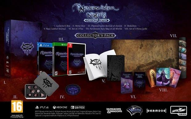Así es la edición coleccionista de Baldur's Gate, Neverwinter Nights y más, exclusivas de Game 4
