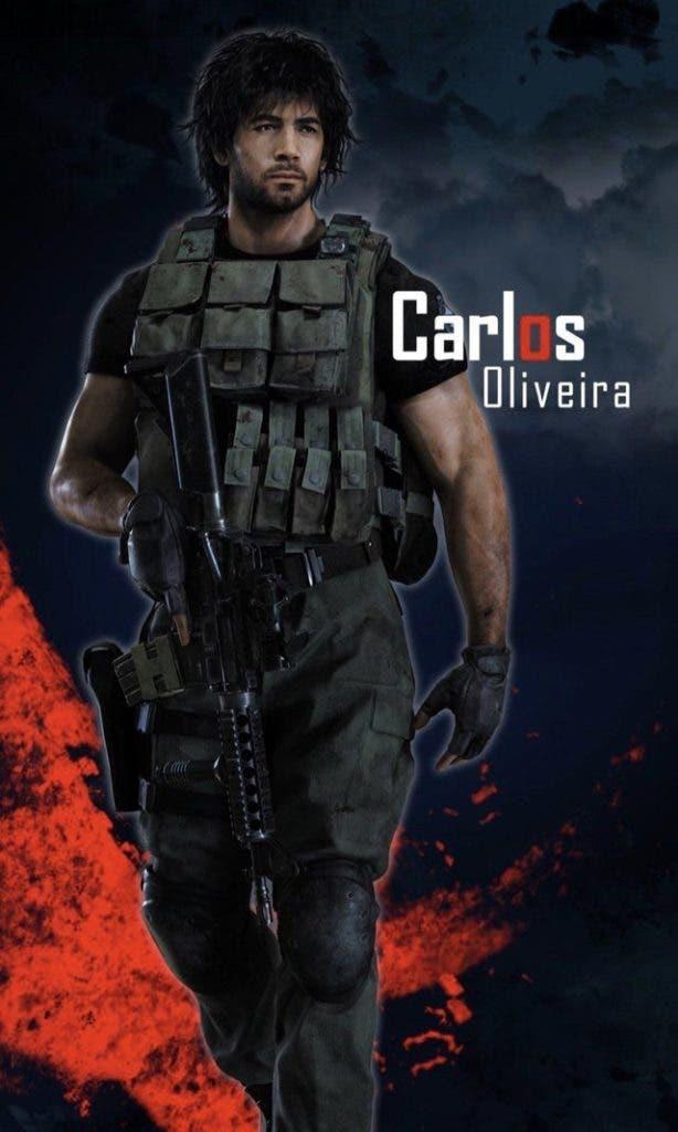 Primer vistazo completo al rediseño de Carlos Oliveira en Resident Evil 3 2