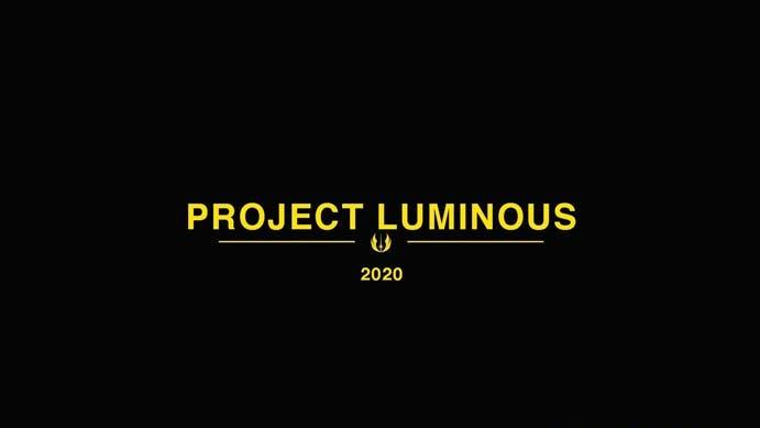 El futuro de Star Wars tanto en cine como en videojuegos se presentará el mes que viene con Project Luminous 1
