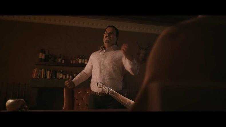 Captura de la cinemática de PUBG sobre la historia de Miramar