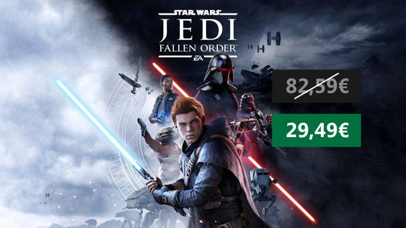Increíble oferta por Star Wars Jedi Fallen Order para Xbox One 1