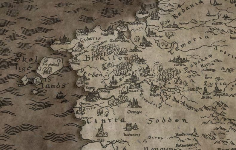 The Witcher de Netflix estrena un espectacular mapa interactivo 1