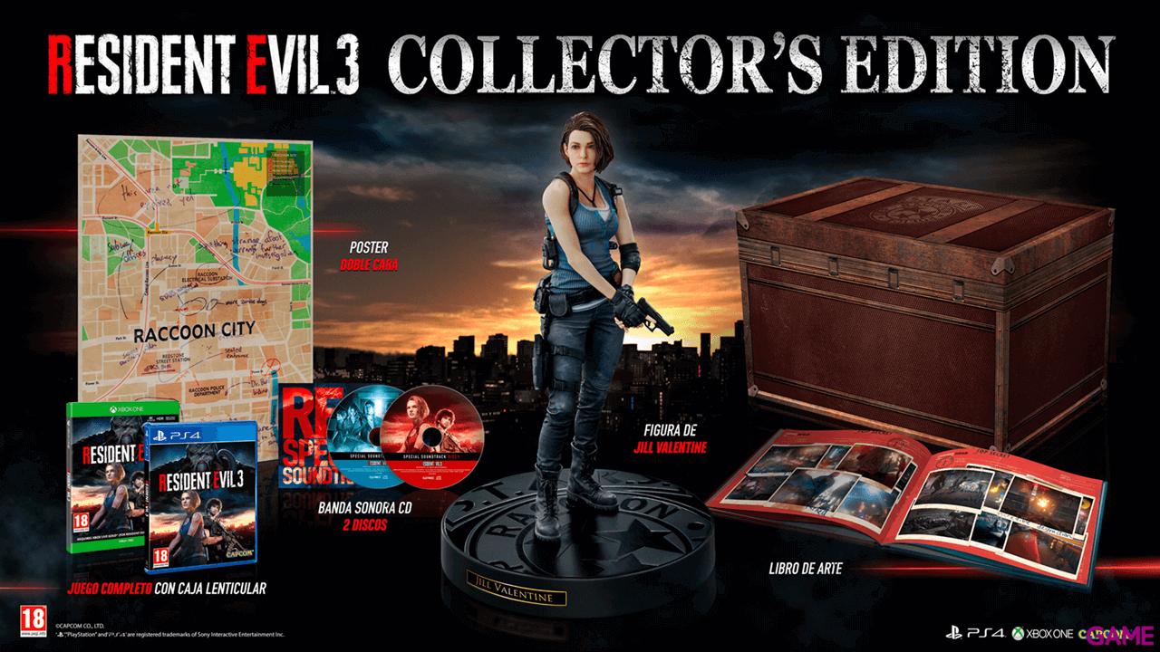 Detallados los incentivos por la reserva de Resident Evil 3 Remake en GAME 2