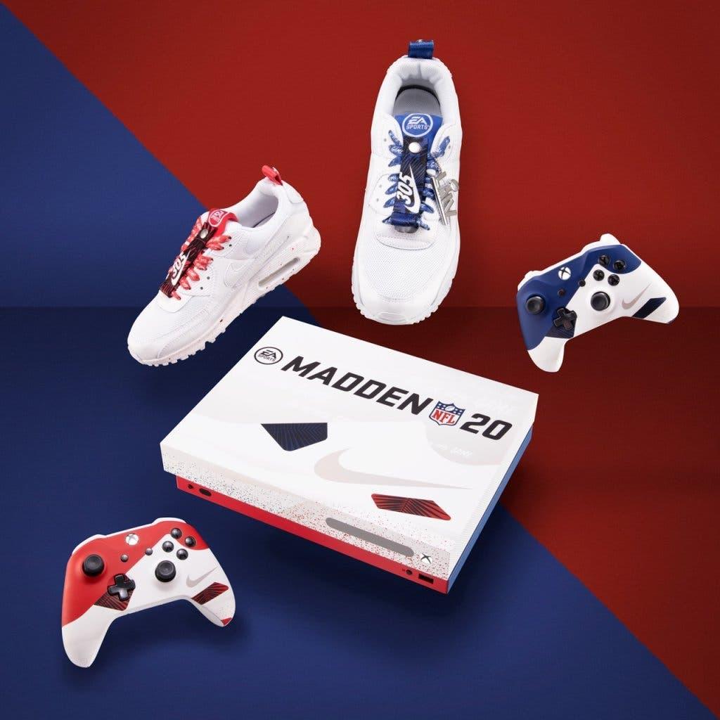 Xbox, Nike y EA se unen para crear una Xbox inspirada en la NFL 2