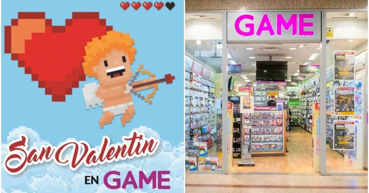 Estas son las grandes ofertas de GAME disponibles por San Valentín