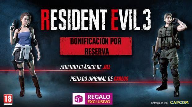 Detallados los incentivos por la reserva de Resident Evil 3 Remake en GAME 1