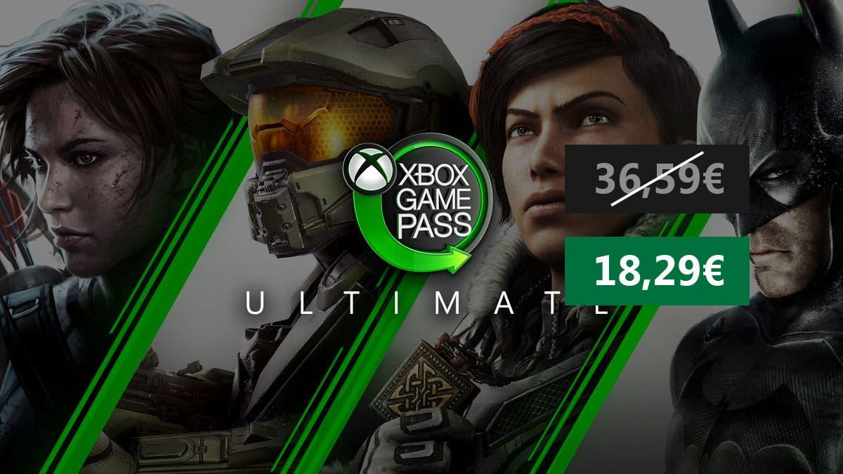 Consigue 6 meses de Xbox Game Pass Ultimate a un precio alucinante 3