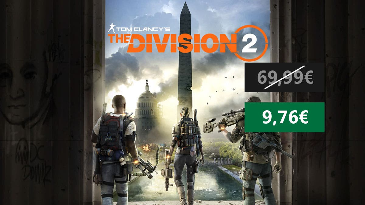 Suculenta oferta por The Division 2 para Xbox One 4