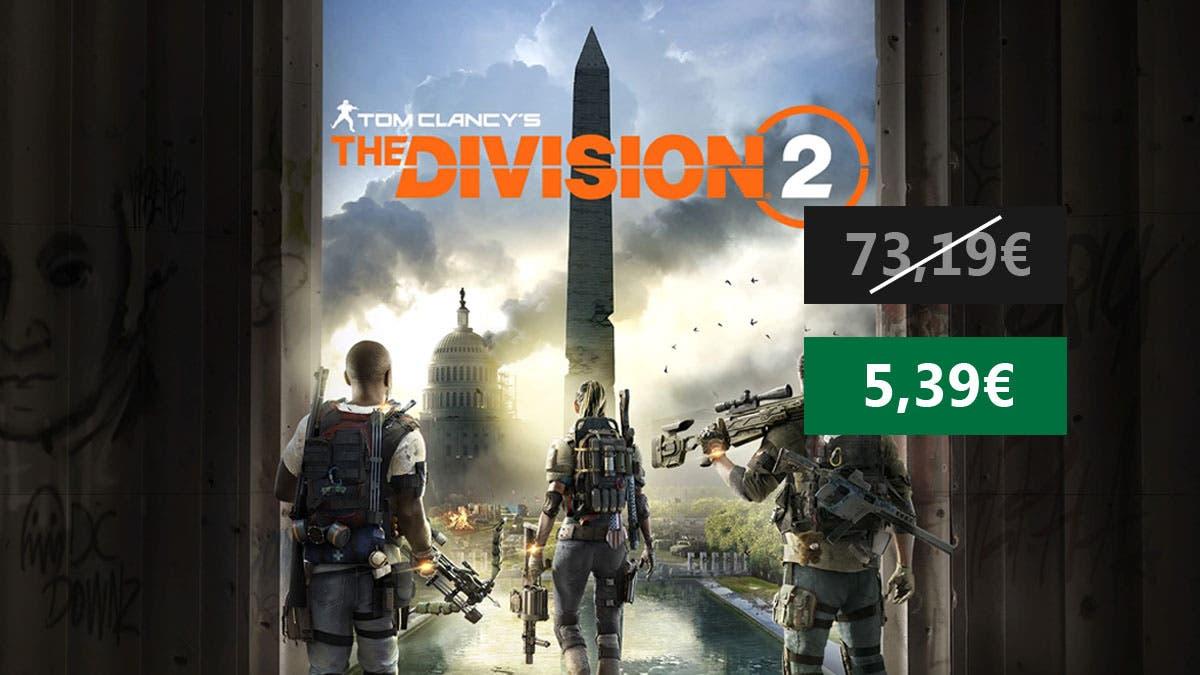 Increíble oferta por The Division 2 4