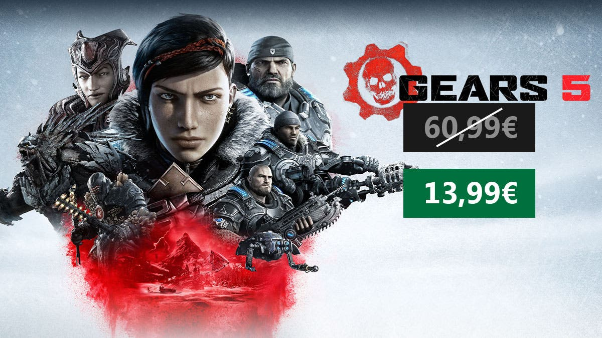 Suculenta oferta por Gears 5 para Xbox One y PC 10