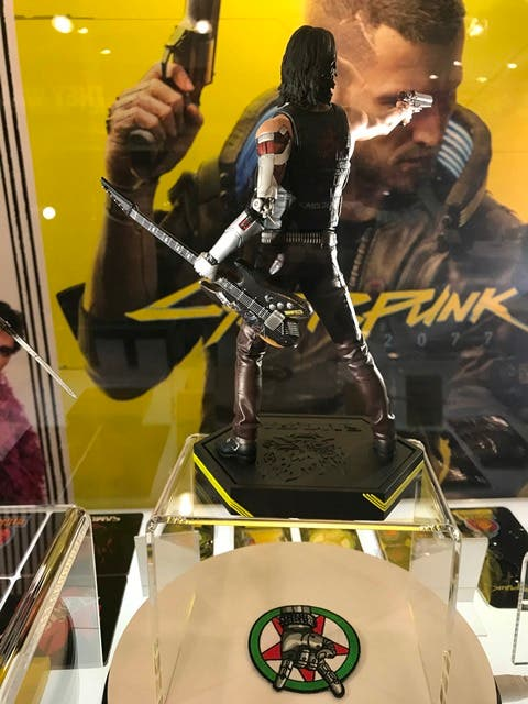 Así de espectaculares son las primeras figuras Dark Horse de Cyberpunk 2077 3