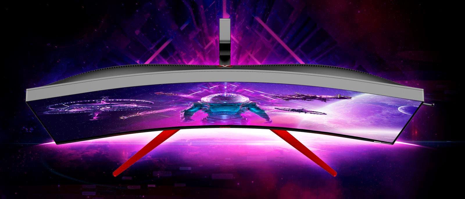 """AOC presenta su monitor curvo AG353UCG, el monitor panorámico HDR y 200Hz de 35"""" 11"""