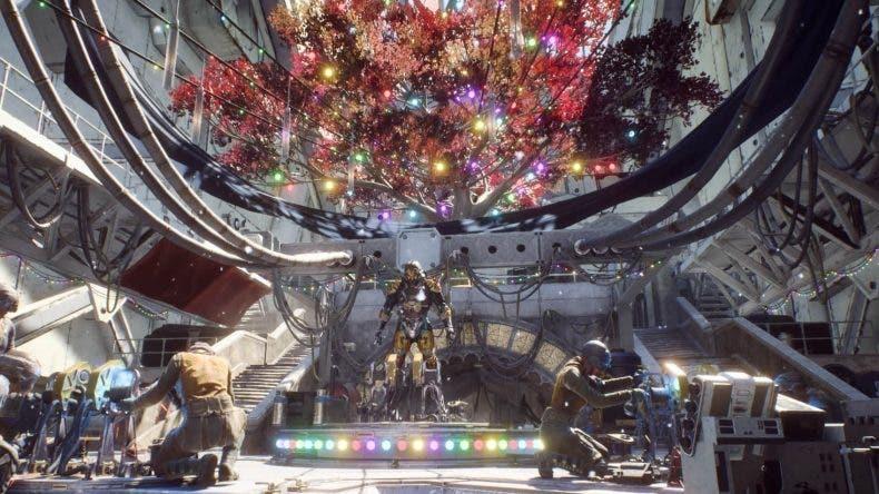 Anthem todavía tiene puestas las decoraciones de navidad