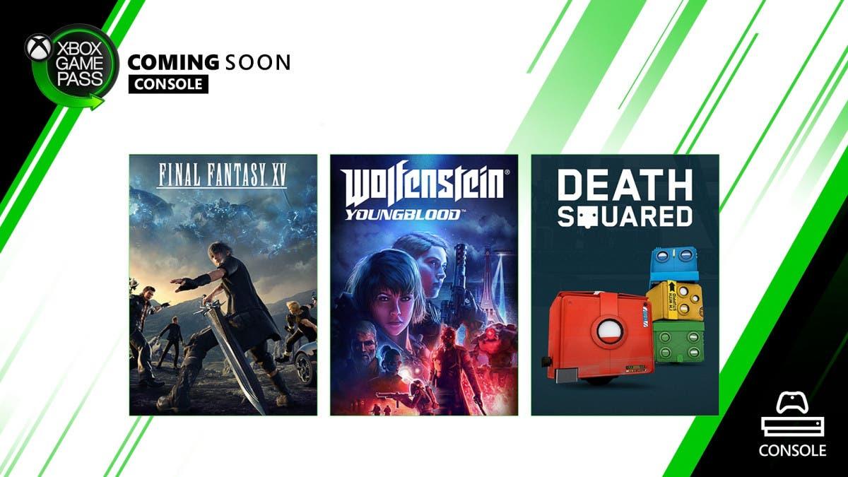 Final Fantasy XV encabeza los nuevos títulos de Xbox Game Pass 2