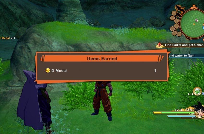 Como conseguir medallas D en Dragon Ball Z: Kakarot 2
