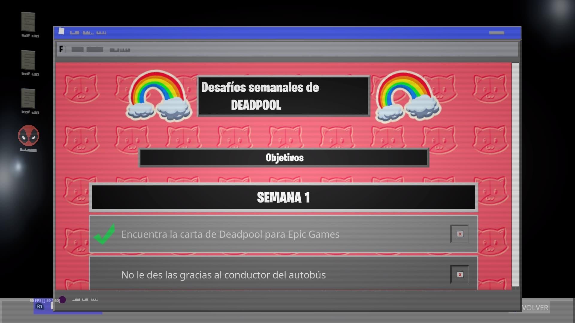 Cómo completar los desafíos semanales de Deadpool en Fortnite - Semana 1