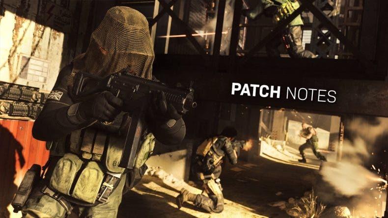 El parche de Call of Duty Modern Warfare nos trae consigo un nuevo mapa entre otras cosas
