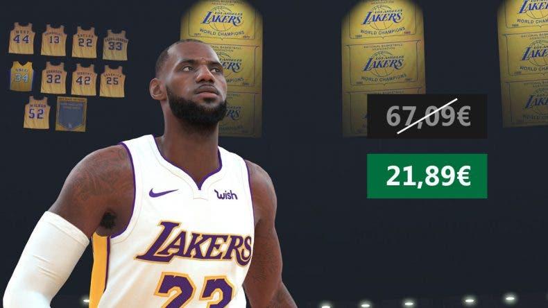 Aprovecha esta oferta de NBA 2K20 para Xbox One 1
