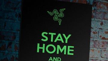 Con esta bandera de Razer puedes ayudar a combatir el coronavirus #STAYSTRONGWUHAN 1