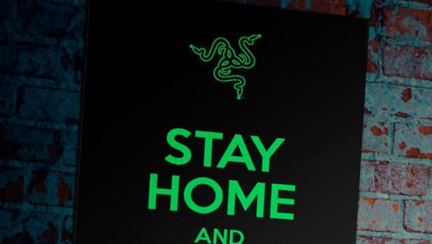 Con esta bandera de Razer puedes ayudar a combatir el coronavirus #STAYSTRONGWUHAN 5