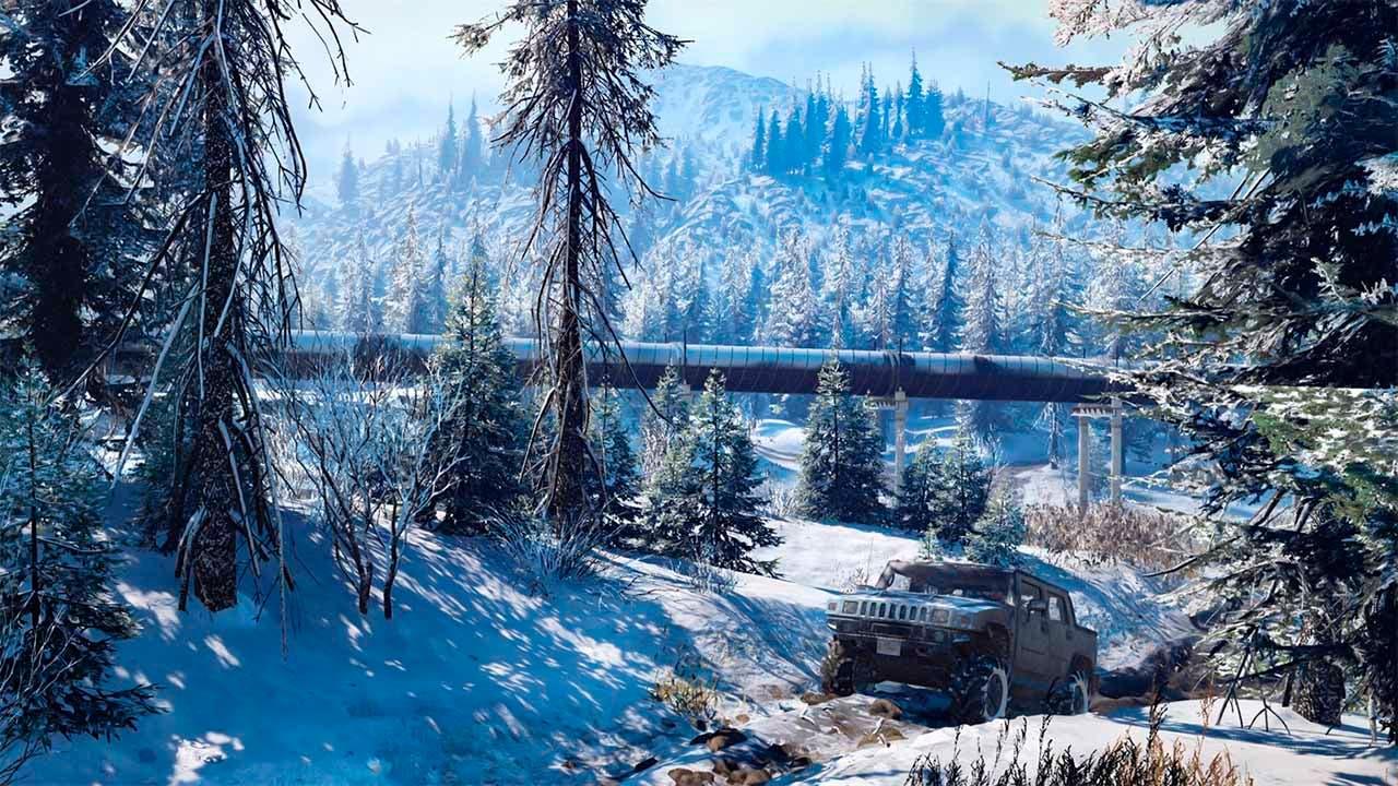 SnowRunner nos invita a conquistar la salvaje naturaleza 2