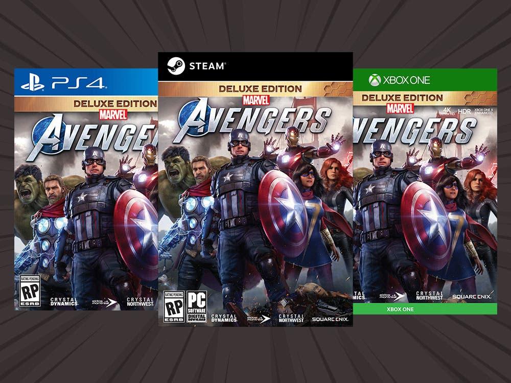 Desvelada la 'Edición más poderosa de la Tierra' de Marvel's Avengers 1