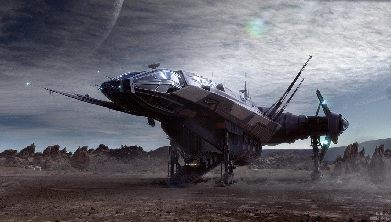 Star Citizen sigue creciendo con nuevas lunas y una nueva nave 13