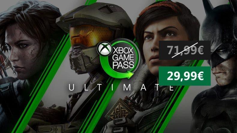 6 meses de Xbox Game Pass Ultimate a un gran precio 1