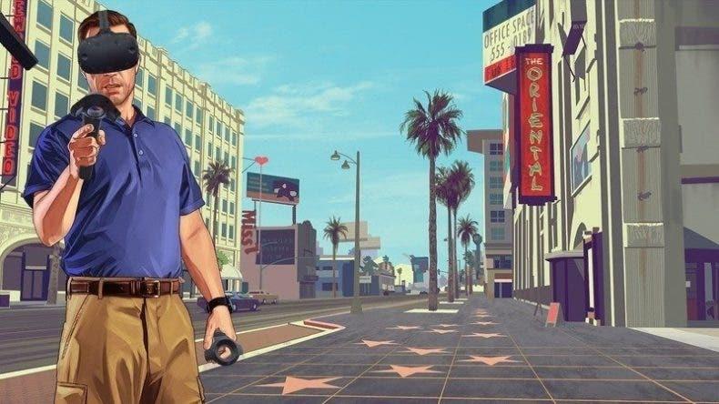 Un mod nos permite jugar a GTA V en la realidad virtual