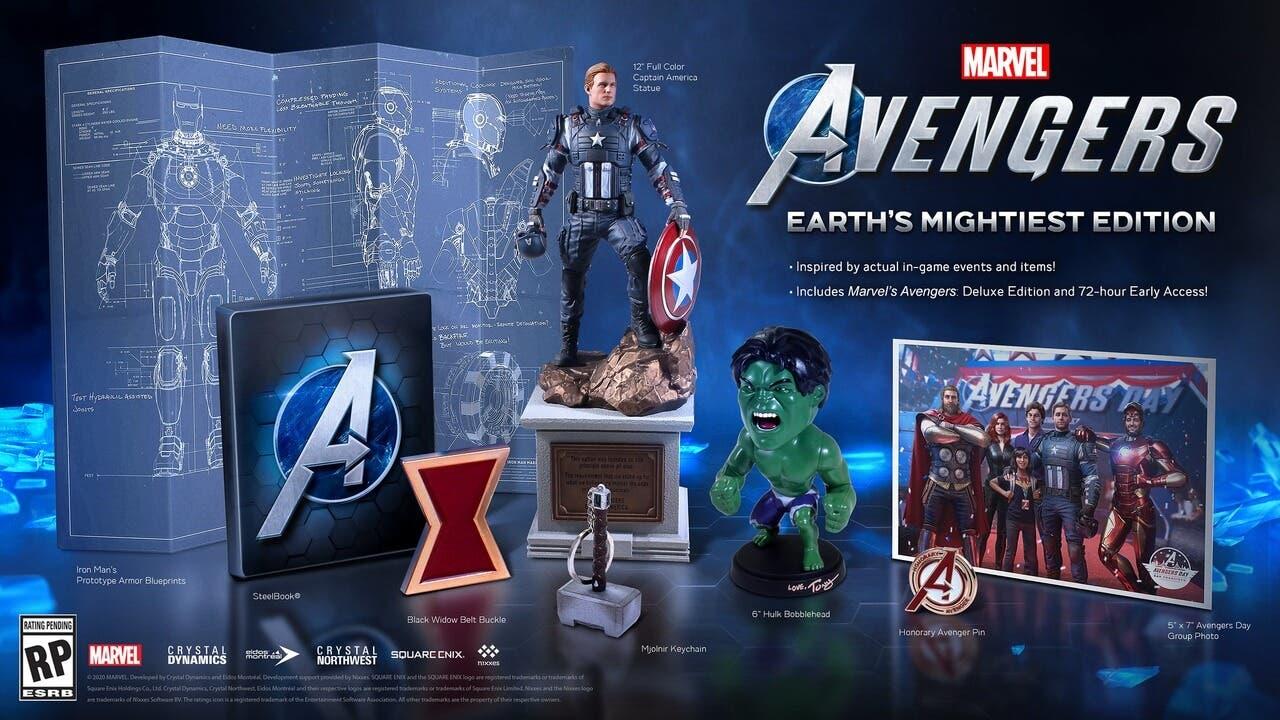 Edición Coleccionista - Edición más poderosa de la Tierra Marvel's Avengers