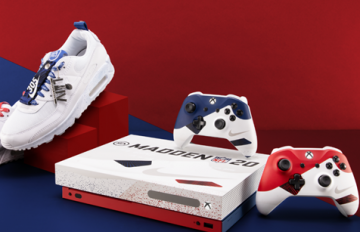 Xbox, Nike y EA se unen para crear una Xbox inspirada en la NFL 1