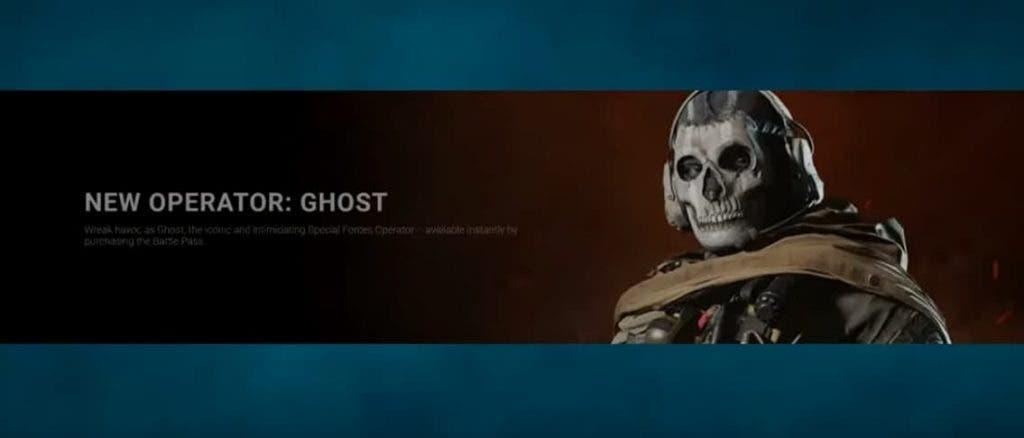 Ghost en Call of Duty: Modern Warfare