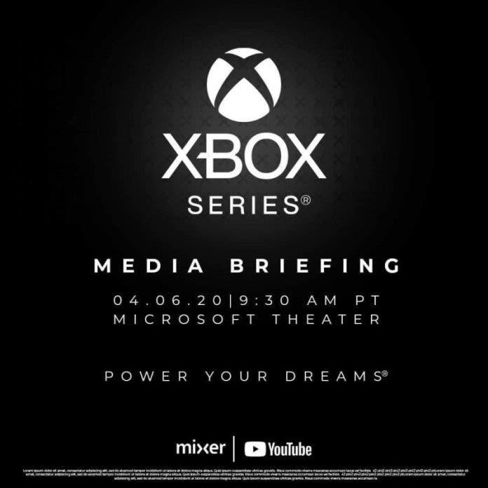 [ACTUALIZADA] Se filtra la fecha de presentación de Xbox Series X 1