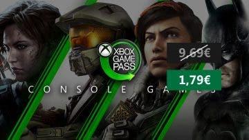 Consigue 1 mes de Xbox Game Pass por solo 1,79 € 1